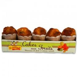 Cakes Ecureuils Fruits confits x 5