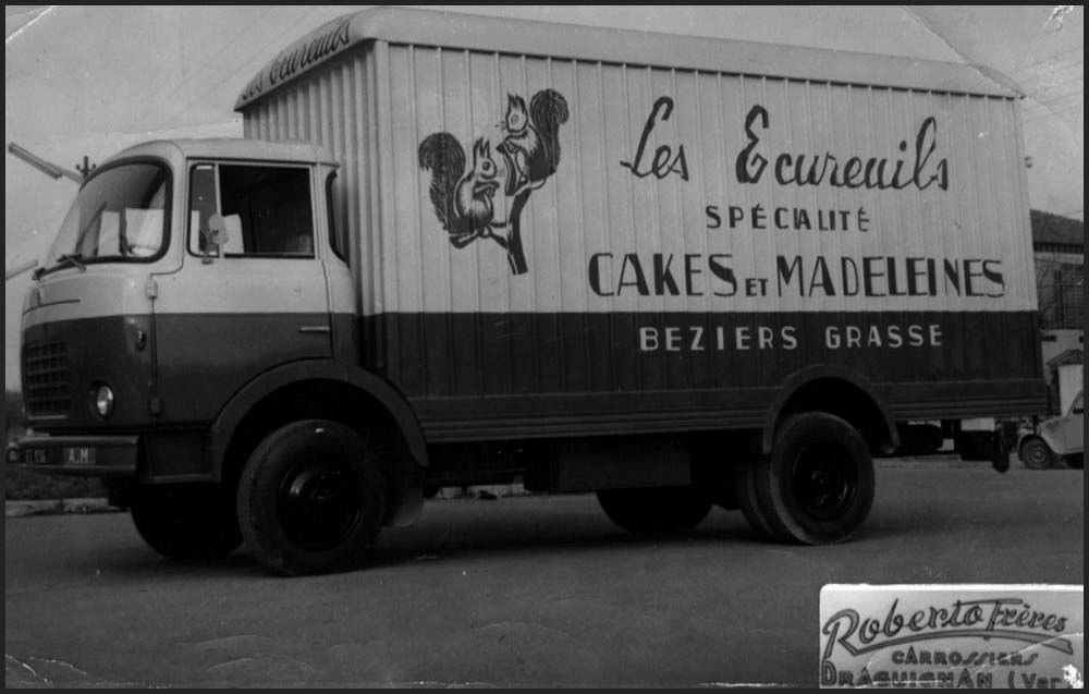Camion Les Ecureuils du Languedoc