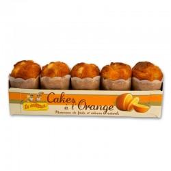 Cakes Ecureuils Orange x 5 - 190 gr