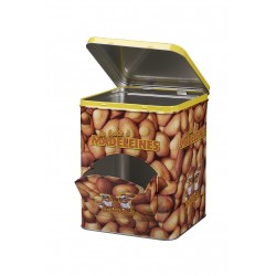Madeleines Ecureuils - Boite distributrice fer de 455 gr
