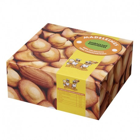 Madeleines Ecureuils boîte de 500 gr