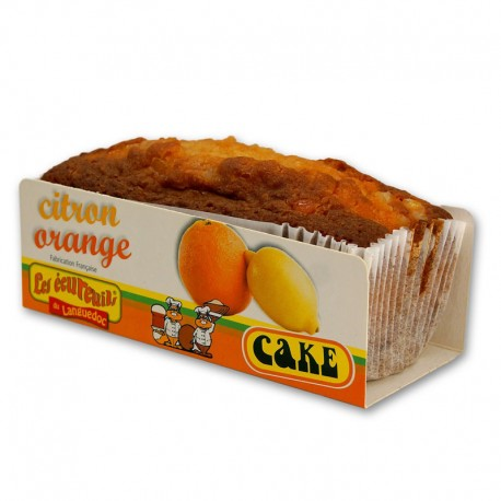 Cake Écureuils Citron / Orange - 350 gr