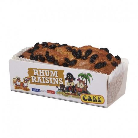 Cake Écureuils Rhum / Raisins - 350 gr