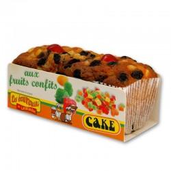 Cake Écureuils aux fruits confits - 350 gr